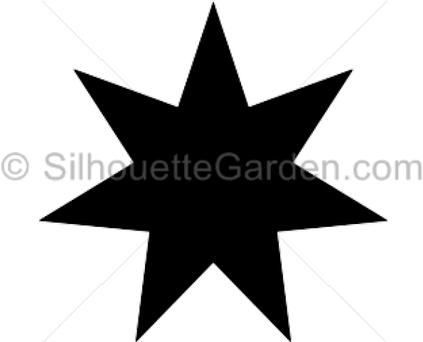 Download Starburst Clipart 7 Point Star.