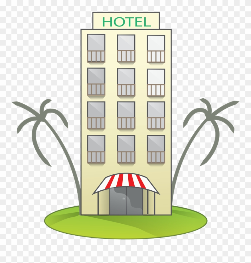 Hotel Clipart Beach Hotel.