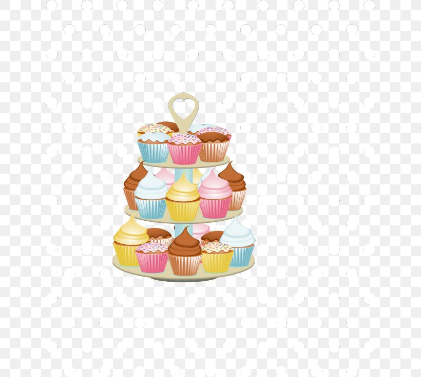 Cakes And Cupcakes Icing Clip Art, PNG, 640x736px, Cupcake.