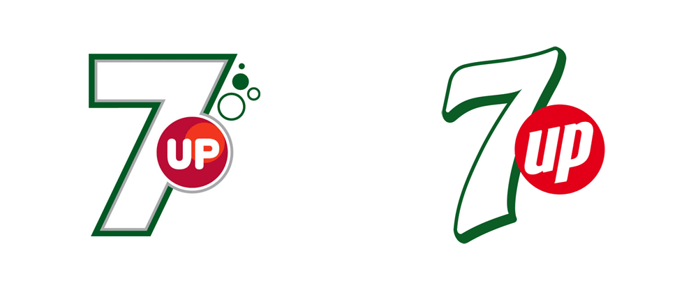 Brand New: New Logo and Packaging for PepsiCo\'s 7up.