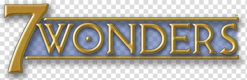7 Wonders logo, 7 Wonders Board game Card game Magic: The.