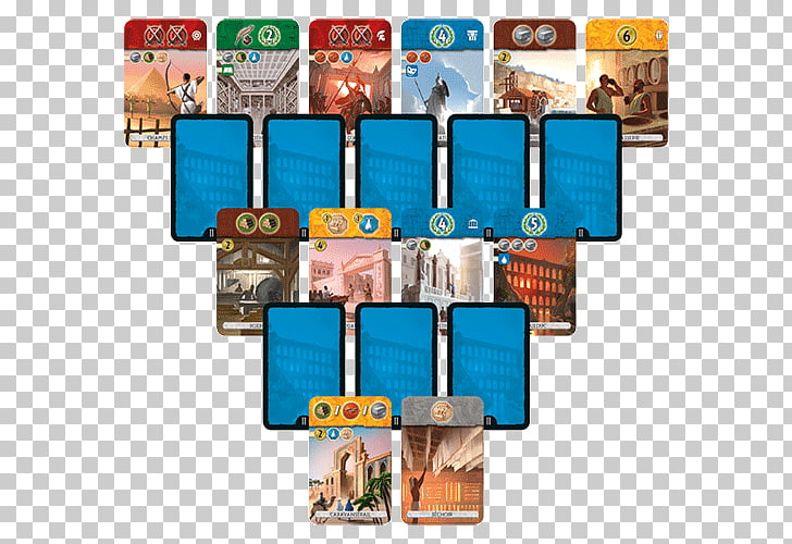 7 Wonders Tabletop Games & Expansions Set Board game, Dice.
