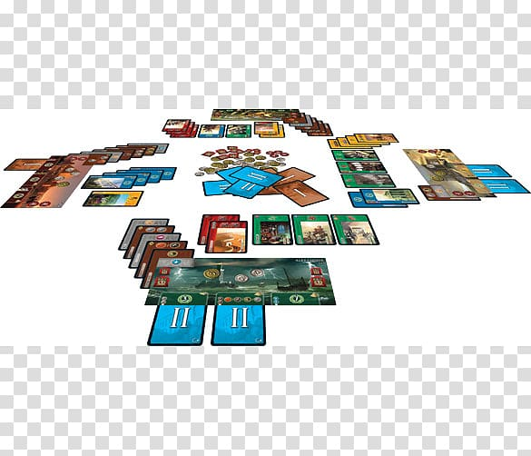 Repos Production 7 Wonders Ticket to Ride Board game, others.