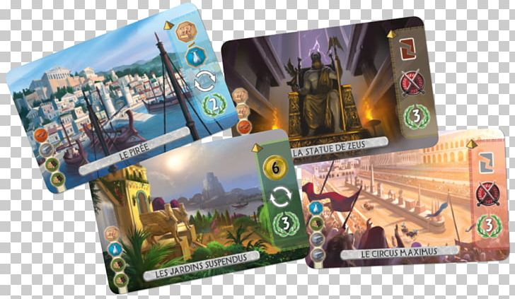 Repos Production 7 Wonders Duel Stonehenge Go Board Game PNG.