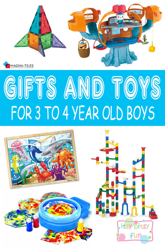 Best Gifts for 3 Year Old Boys in 2017.