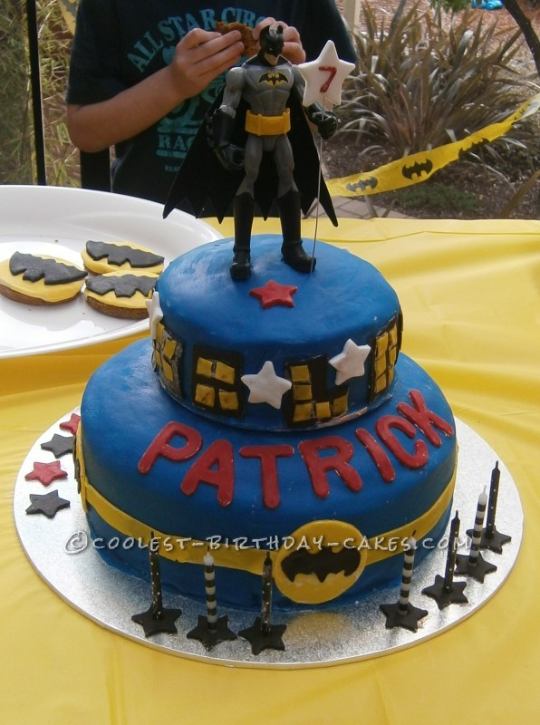 Coolest Batman Cake for 7 Year Old Boy.