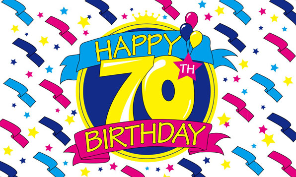 70th birthday clipart 3 » Clipart Station.