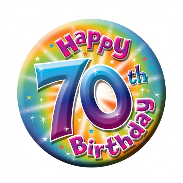 70th birthday clipart 2 » Clipart Station.