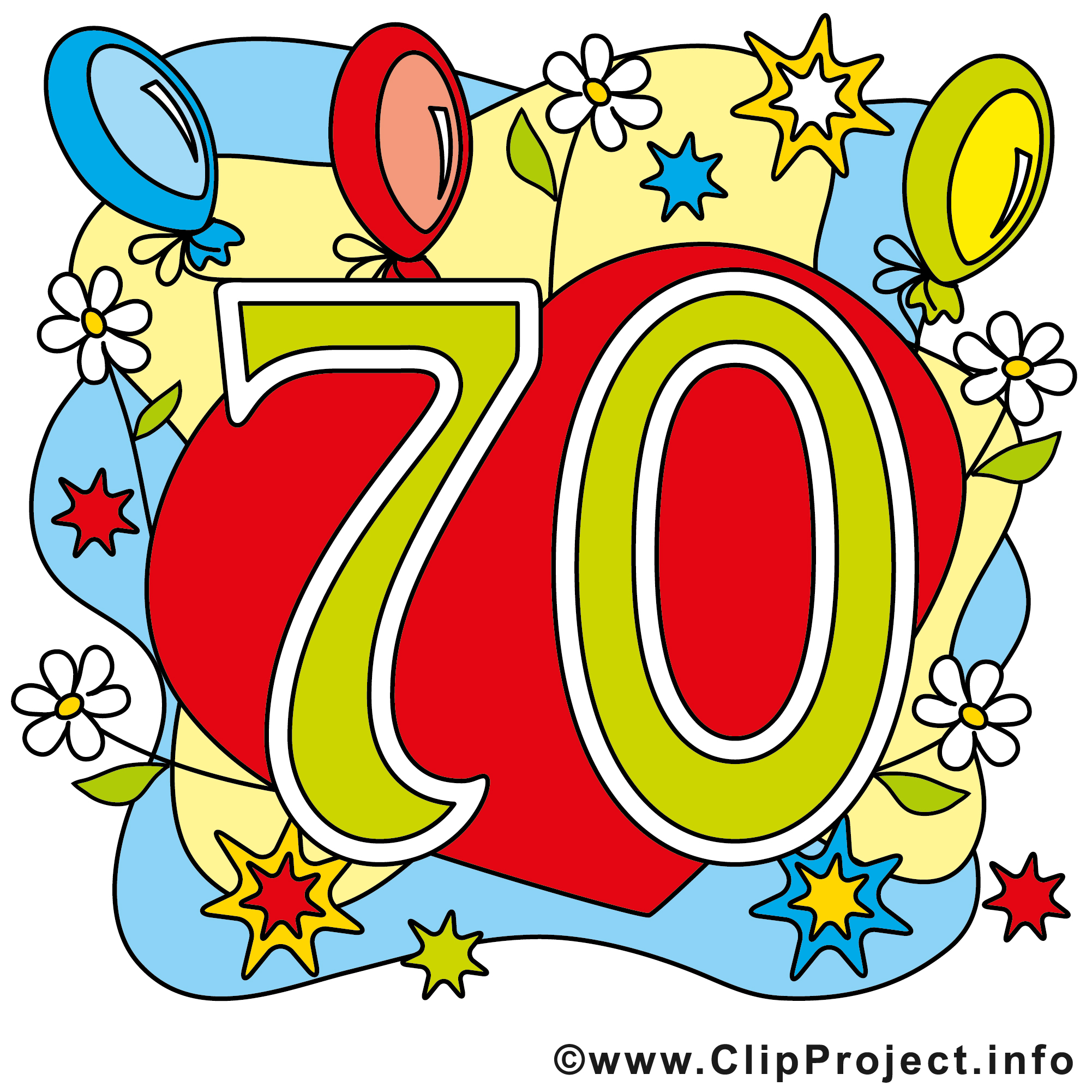 70 clipart.