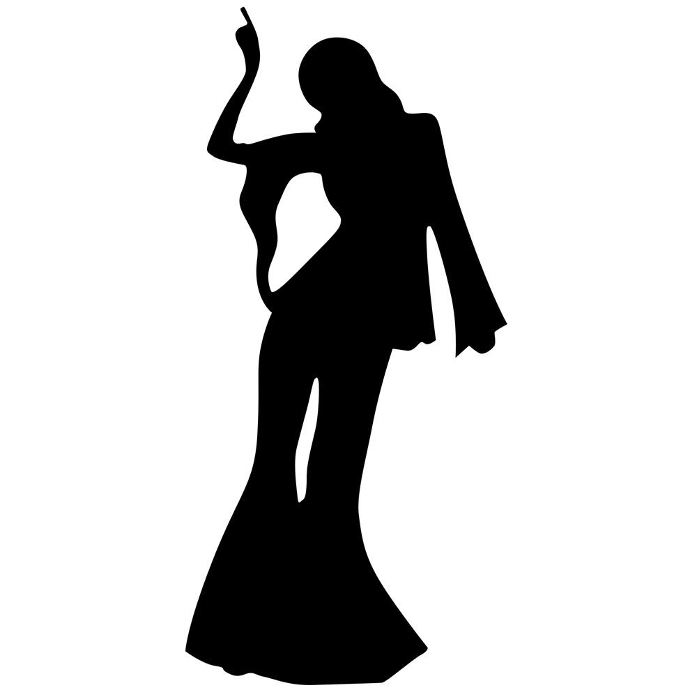 Free Disco Dancer Silhouette, Download Free Clip Art, Free.