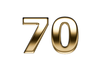 Number 70 Png & Free Number 70.png Transparent Images #23228.