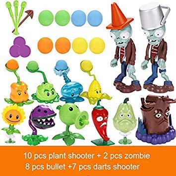 Amazon.com: Action Figure Plants Vs Zombies Toys for.