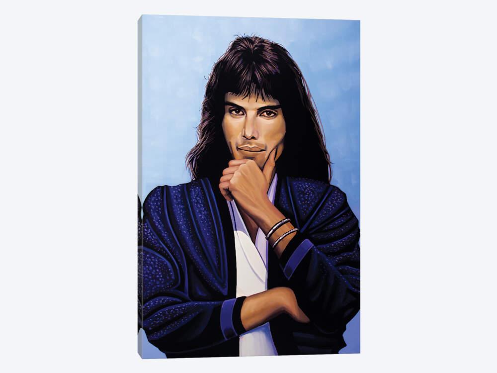 Freddie Mercury V Canvas Wall Art by Paul Meijering.