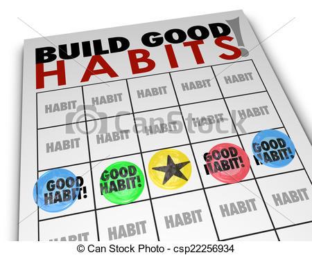 Good habits Clip Art and Stock Illustrations. 707 Good habits EPS.