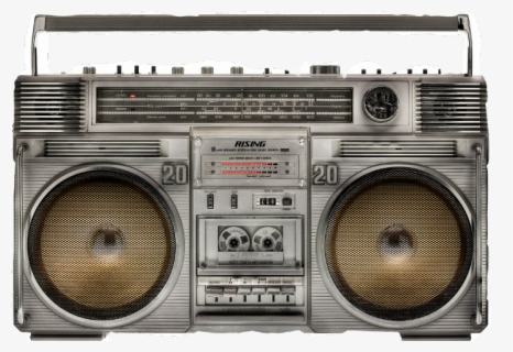 Free Boom Box Clip Art with No Background.