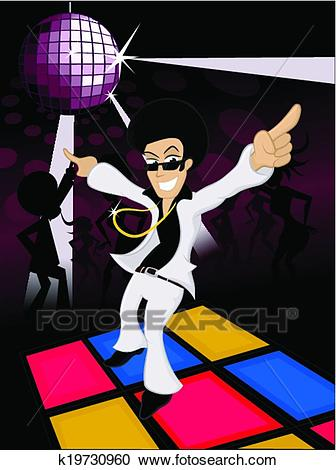 Disco Fever Clipart.