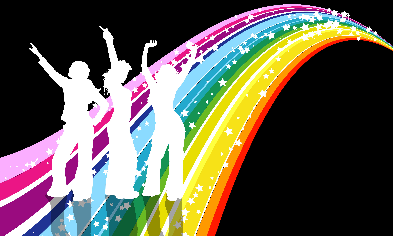 70s Disco Clip Art free image.