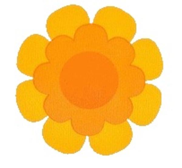 S Flower Irange Yellow.