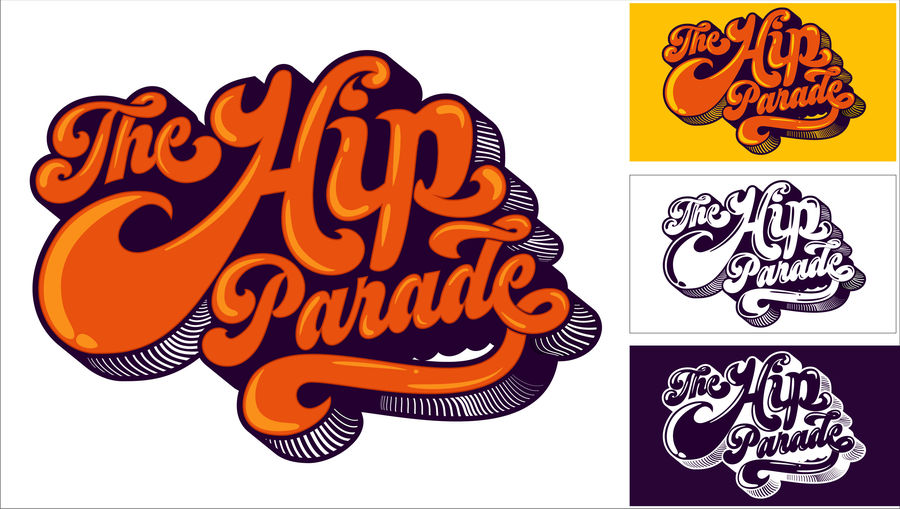 Entry #72 by Tkamari for Funky 70s Logo from sketch.