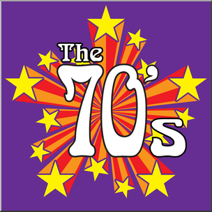 70s number clipart Transparent pictures on F.