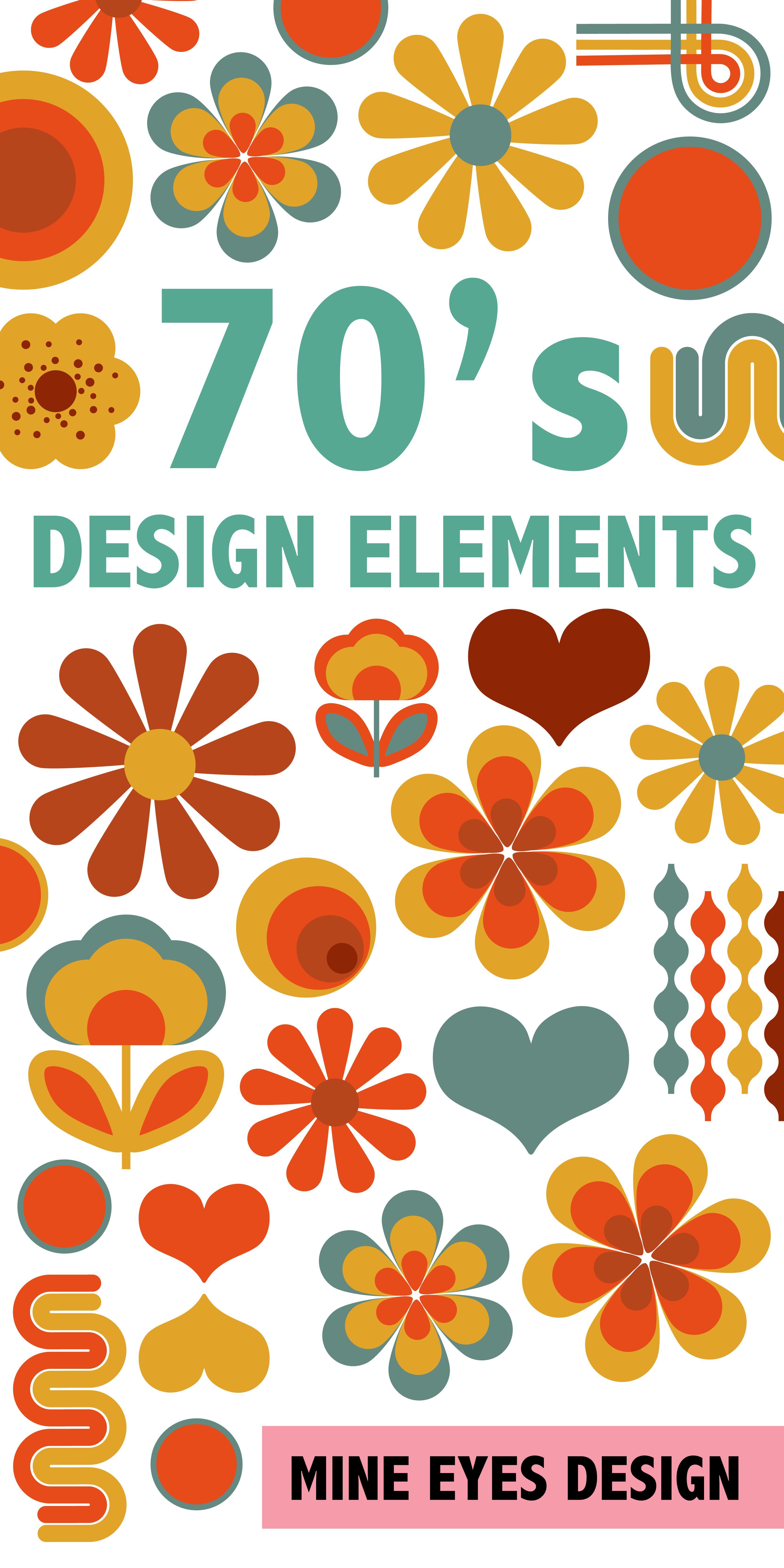 70\'s Design Elements.