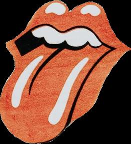 groovy rad retro lips 70s aesthetic pinterest cool red.