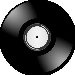 Vinyl Disc Record.