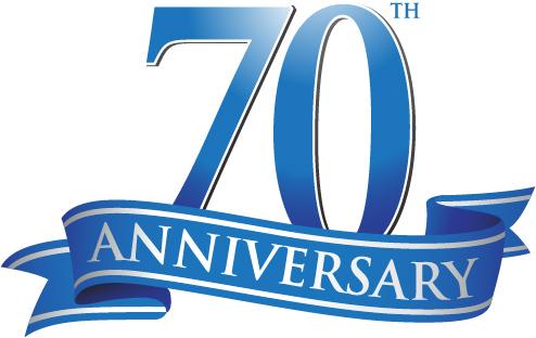 70th Anniversary.