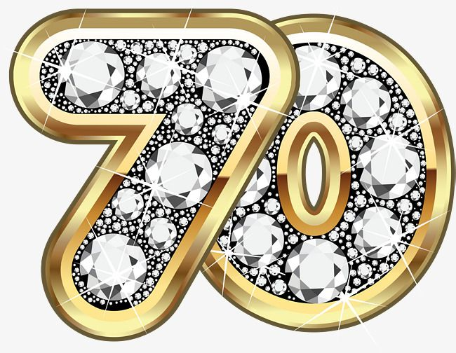 Golden Earth 70th Anniversary, Earth Clipart, Gold.