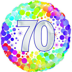 Details about Happy 70th Birthday 18\