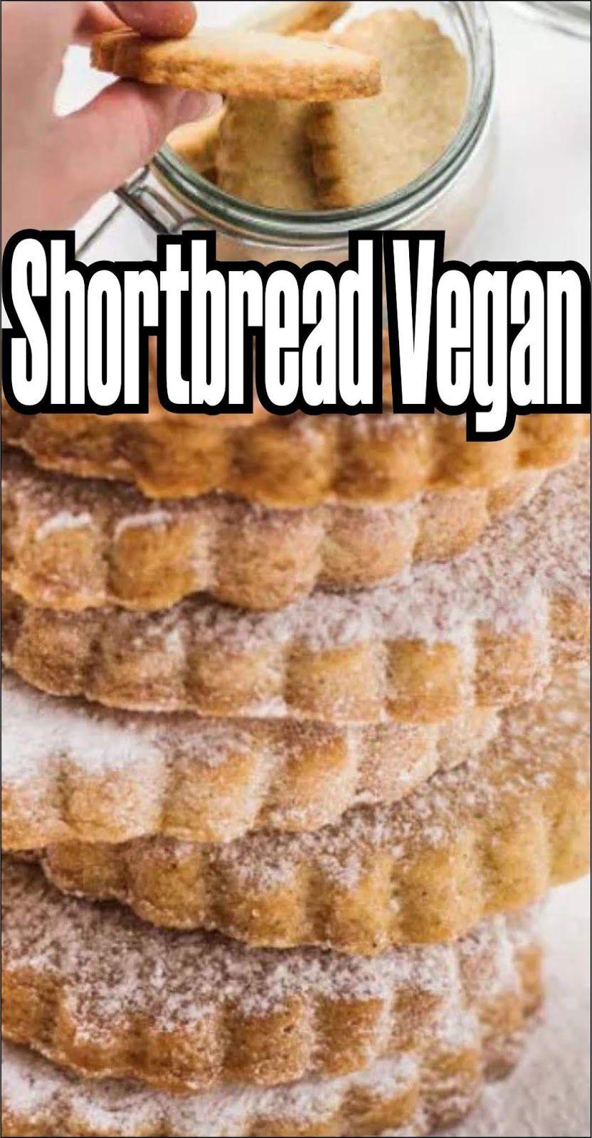 Delicious Shortbreads Vegan.