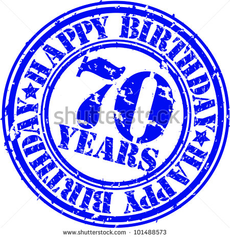 17 70th Birthday Vector Images.