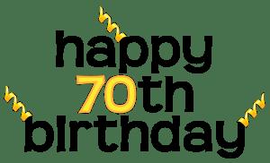70th birthday clipart 3 » Clipart Portal.
