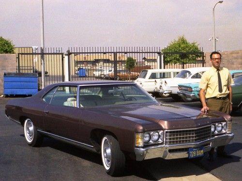 Brand new 71 Impala.