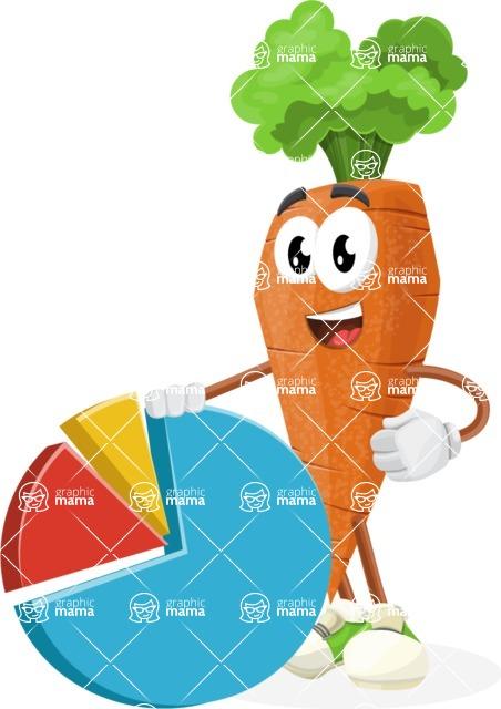 Healthy Vegetable Cartoon Vector Character AKA Mr.
