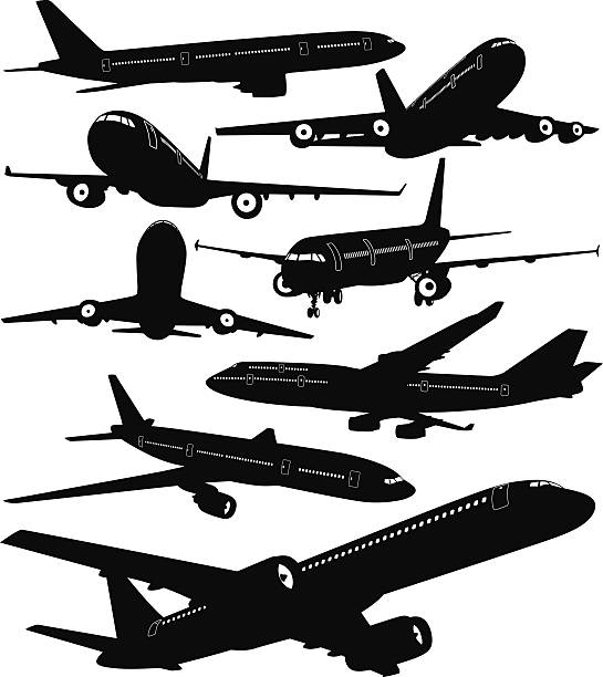 Boeing 737 Illustrations, Royalty.