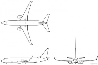 3 Views of Airplanes for Model Airplane BuildingAeroFred.