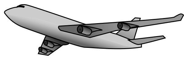 747 clipart hd.
