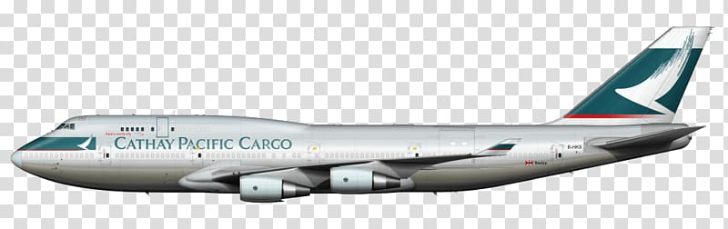 Gray Cathay Pacific Cargo airline, Cathay Pacific Boeing 747.