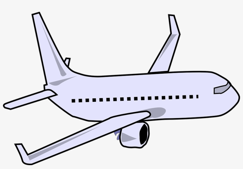 Airplane Clipart Boeing 747.