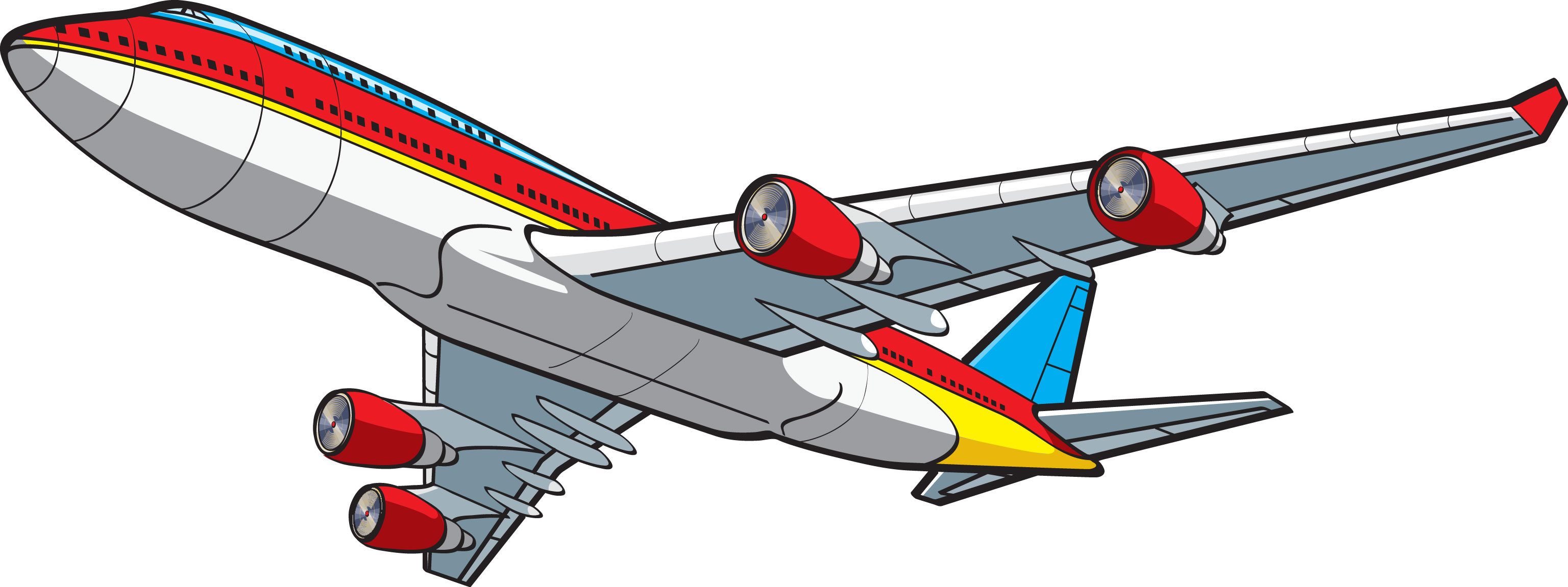 Clipart boeing 747.