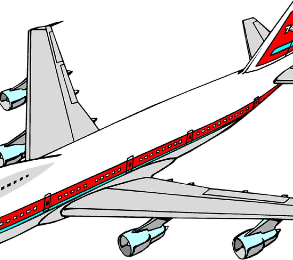 Airplane Clipart 747 Airplane Clipart Animations.