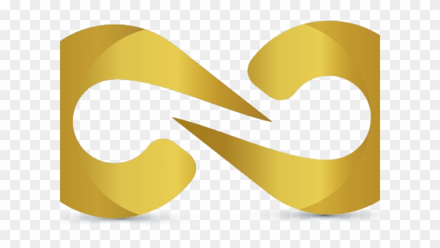 Infinity Clipart Gold.