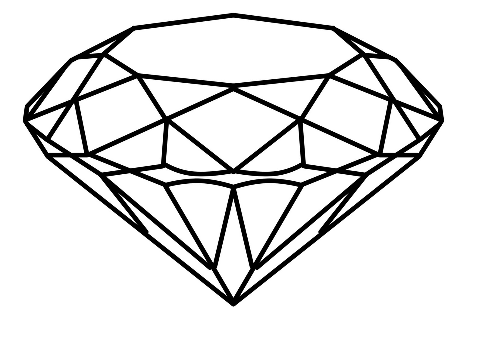 Free How To Draw A Diamond, Download Free Clip Art, Free.