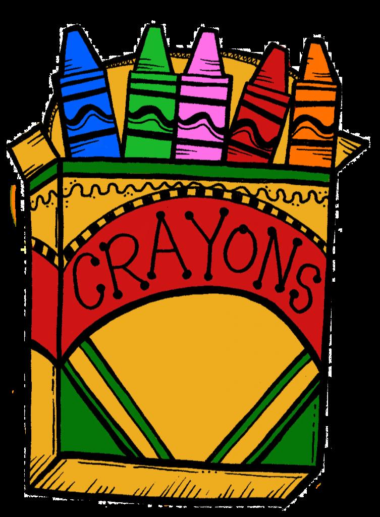 Crayola Colors Clip Art.