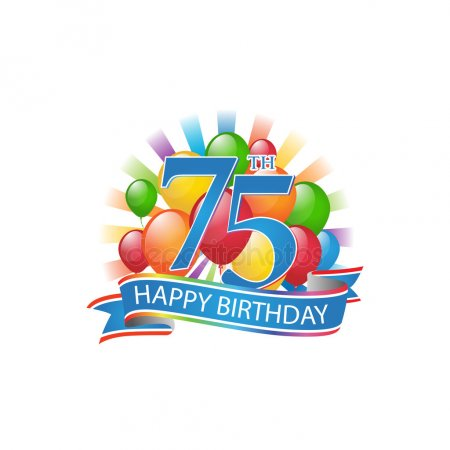75th birthday Stock Vectors, Royalty Free 75th birthday.