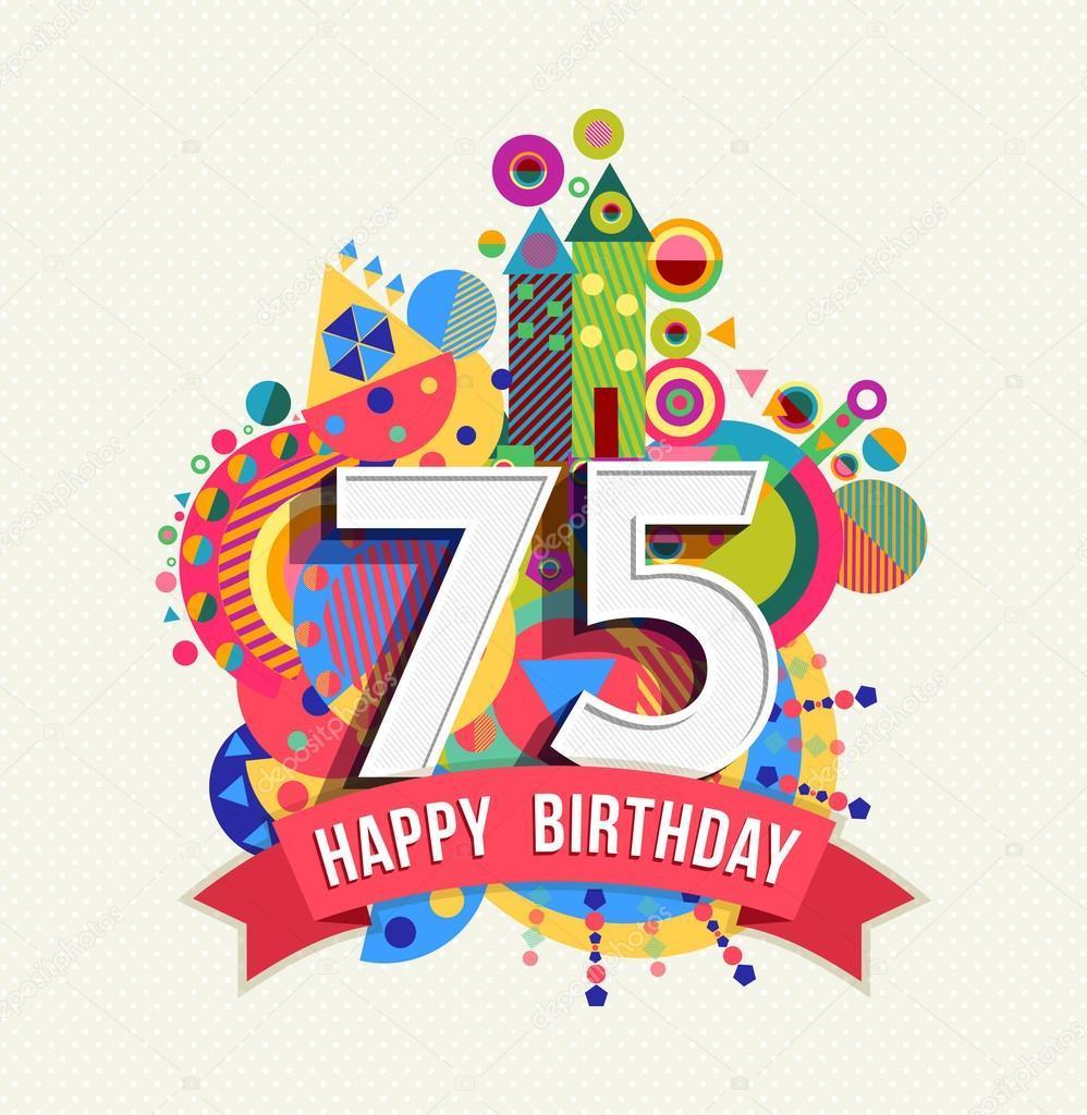 75th birthday clipart 9 » Clipart Portal.