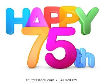 75th birthday clipart 7 » Clipart Portal.