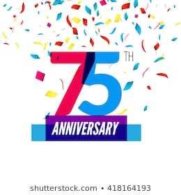 75th birthday clipart 6 » Clipart Portal.