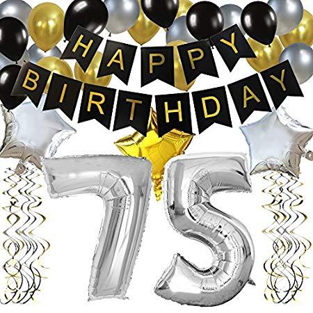 75th Birthday Party Ideas.